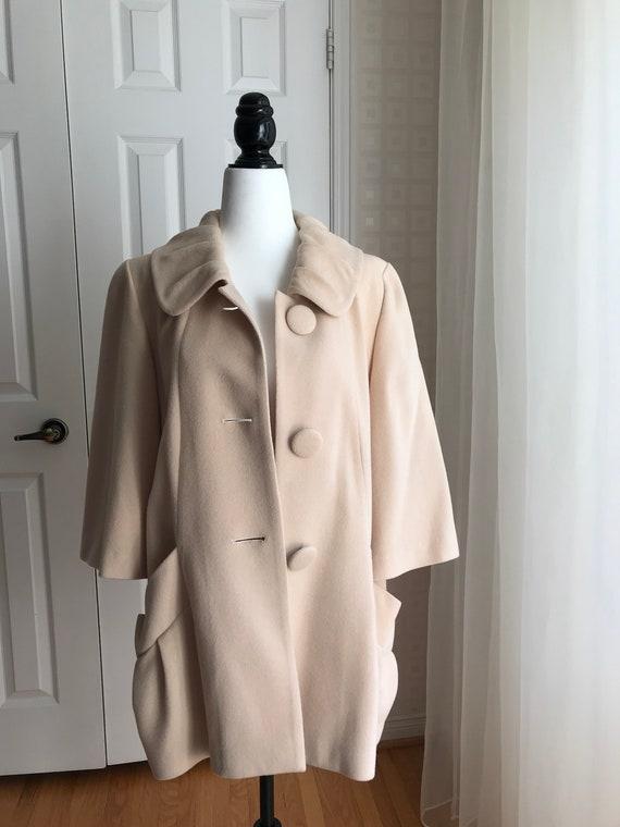 Beige Wool Jacket