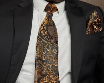 NT025 Men With Tie Blue Men Necktie Silk Blend Office Party Formal Man Tie