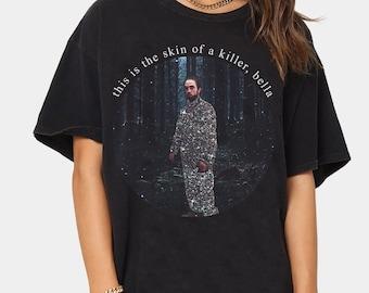 Robert Pattinson Shirt, Twilight Shirt, This Is The Skin Of A Killer Bella Shirt,Edward Cullens Retro Shirt,Twitlight Movie Shirt HA