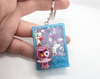 Pastel Sprinkle Wand Keychain