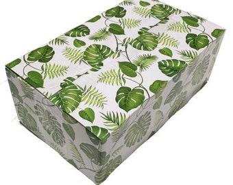 5 CT: 12x10x4 Banana leaf Boxes