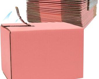 5 count 8.2 x 4.3 x 5.9 inch Pink Designer Mailing Box