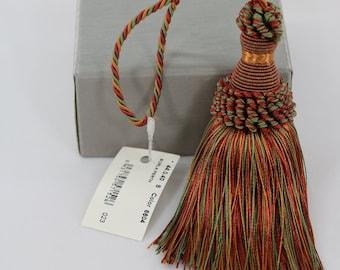 Vintage European key tassel //Armoire tassel// Green //High Quality //Borla Imperial