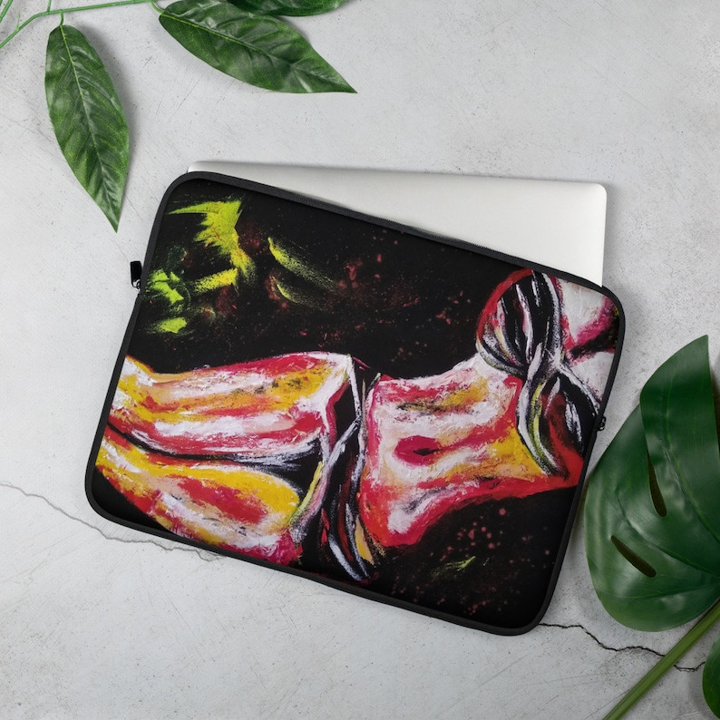 Sexual female nude Women Body Abstract Paint Laptop Sleeve Case Cover pop art decor etsy laptop sleeve laptop sleeve 13