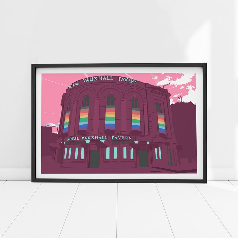 The Royal Vauxhall Tavern Pride edition Print image 0