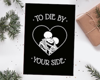 The Smiths To Die By Your Side A5 Print