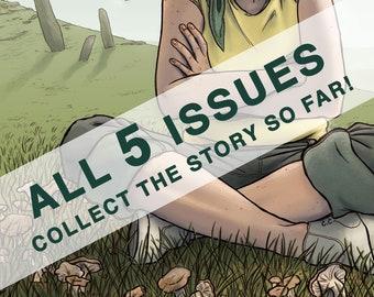 Stray Sod Comic - 5 Issue Bundle - Irish Folklore Adventure