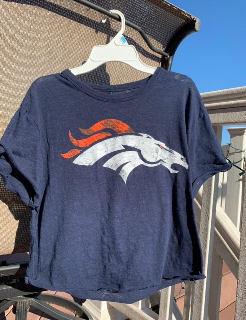 Broncos Crop Top