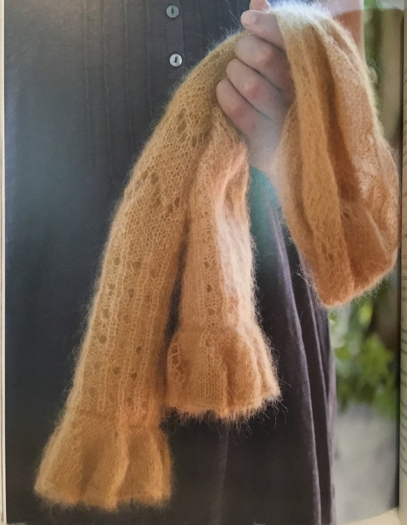Luxurious Mohair-Silk Yarns 20 Delicate Projects inSoft Knitting BookLACY KNITS by Alison Crowther Smith