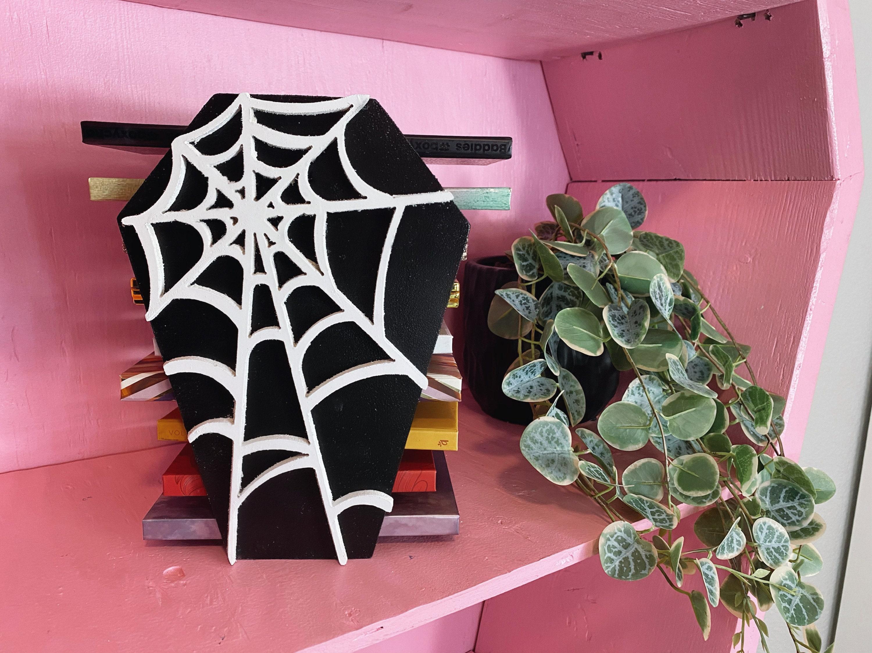 Spider Web Coffin Palette Holder Makeup storage Palette makeup holder