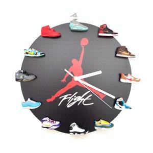 Air Jordan Wall ClockJordan room decoration Sneakerhead   Etsy