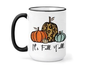 Autumn Mug Details about  /Morning Pumpkin Mug Coffee Mug Gift ... Fall Mug Fall Coffee Cup