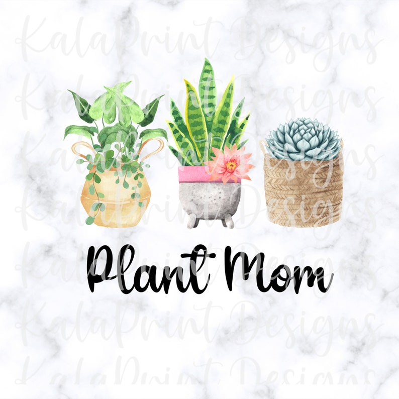 DTG Print Ready to Print Plant Lady Png for T-Shirt Plant Mom PNG Funny Cactus PNG Succulent Png File for Sublimation Download Printing