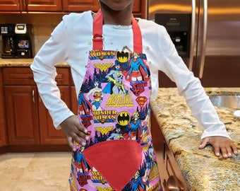 John Derian Halloween Winging It Bat Print Cooking Apron Gothic Batty Chef NWT