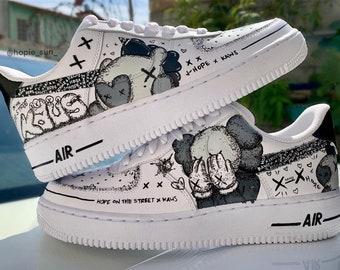 Kaws custom shoes | Etsy