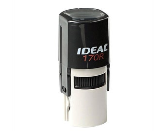 """Your Custom Text or Graphic Small Round Stamp 