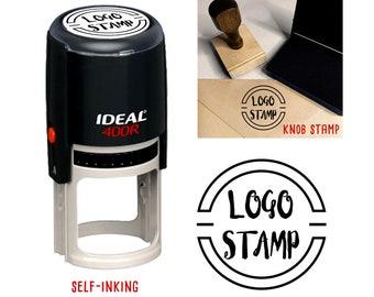 Logo Stamp | Custom Logo Stamp | Your Logo Stamp | Your Brand Stamp