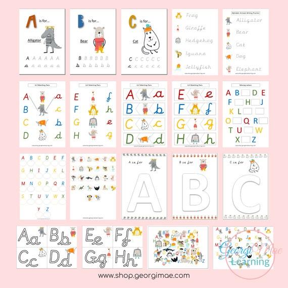 Preschool ABC busy book bundle