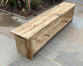 Large Wooden Benches