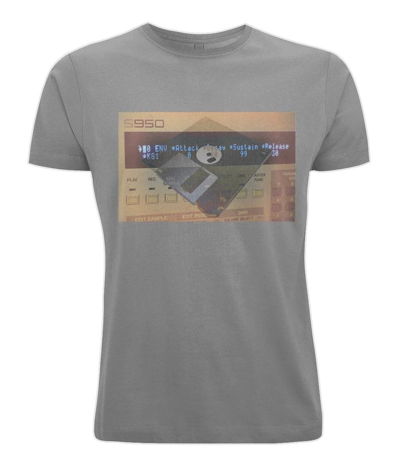 Music Producer Graphic Logo Akai 950 T-Shirt.