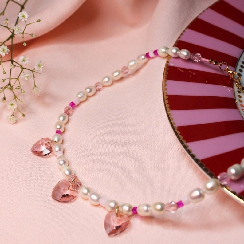 Romantica Necklace Pearls necklace Romantic jewellery Real image 0
