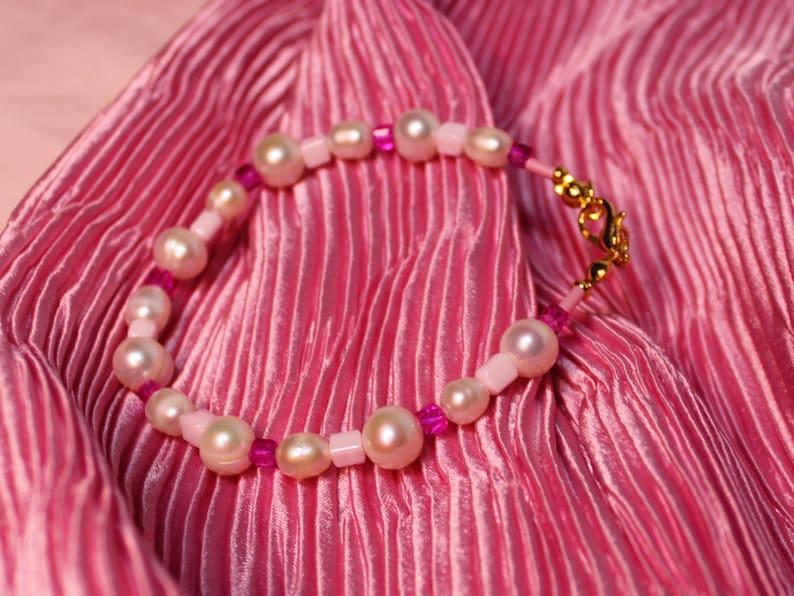 Caramella Bracelet romantic pearls bracelet freshwater image 0