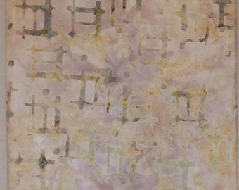 Abstract Lines Batik Fabric