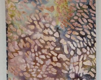Leopard Multi Batik Fabric