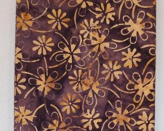 Gold Flower Batik