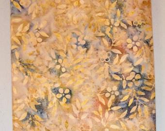 Flower Petal Batik Fabric