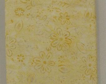 Lemon Lime Batik Fabric