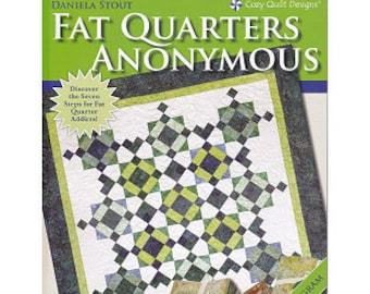 Fat Quarters Anonymous - Quilt Pattern Book