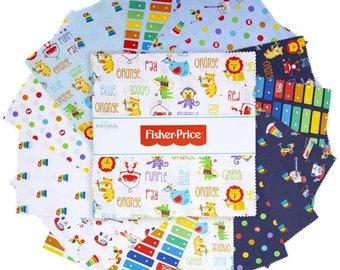 "Fisher Price 10"" Layer Cake Squares"
