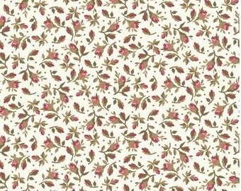 Burgundy & Blush - Rose Cover - Vintage White