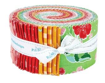 "Strawberry Honey 2.5"" Strip Jelly Roll"