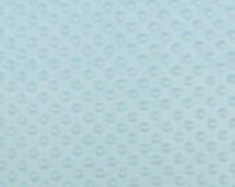 Light Blue Soft Cuddle Fabric
