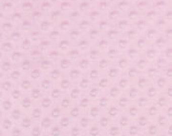 Light Pink Soft Cuddle Fabric
