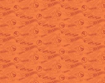 Hot Wheels Rad Orange Yardage