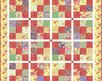 Classic Charm - Quilt Pattern