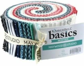 "Winter - KimberBell Basics 2.5"" Strip Jelly Roll"