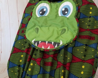 """Car Seat Canopy Cover - """"Gifted Gator"""" Playful Car Seat Covers For Boys and Girls"""