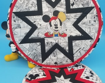 2 Pc Mickey Mouse Trivet Set, Disney Hot Pads-Disney For The Kitchen