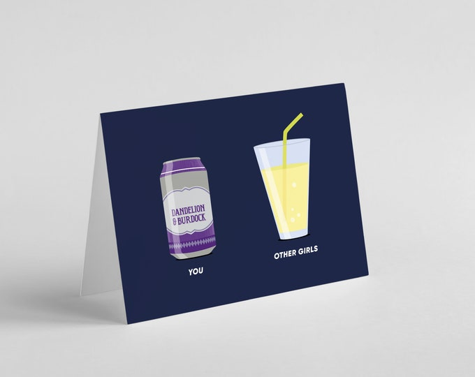 Arctic Monkeys | Dandelion Burdock | Card