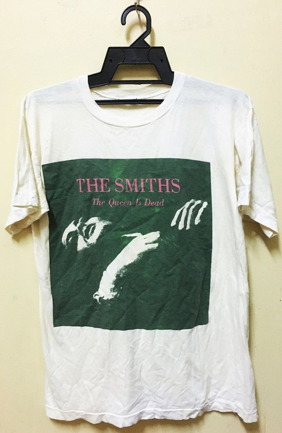 Vintage THE SMITHS the Queen is Dead Rock Tour Con
