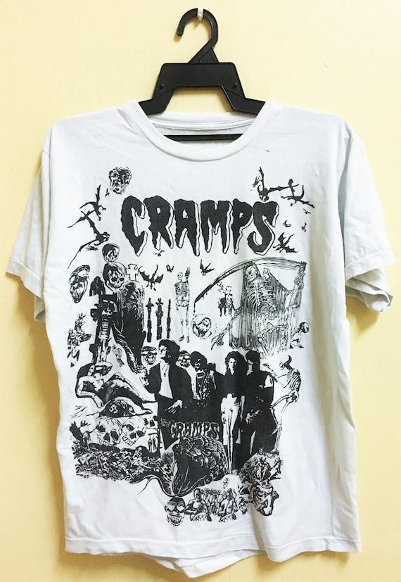 Vintage 80s THE CRAMPS Punk Rock Psychobilly Tour