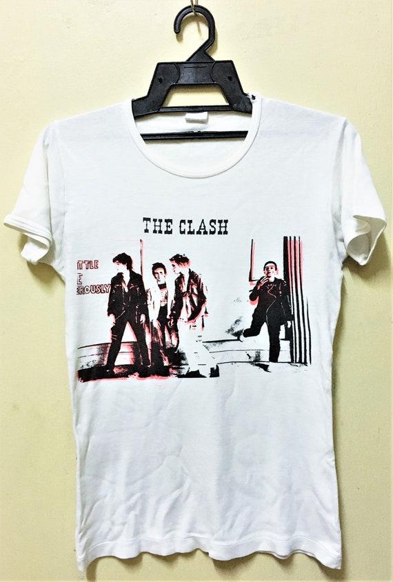Vintage 70s THE CLASH Punk Rock Tour Concert Promo