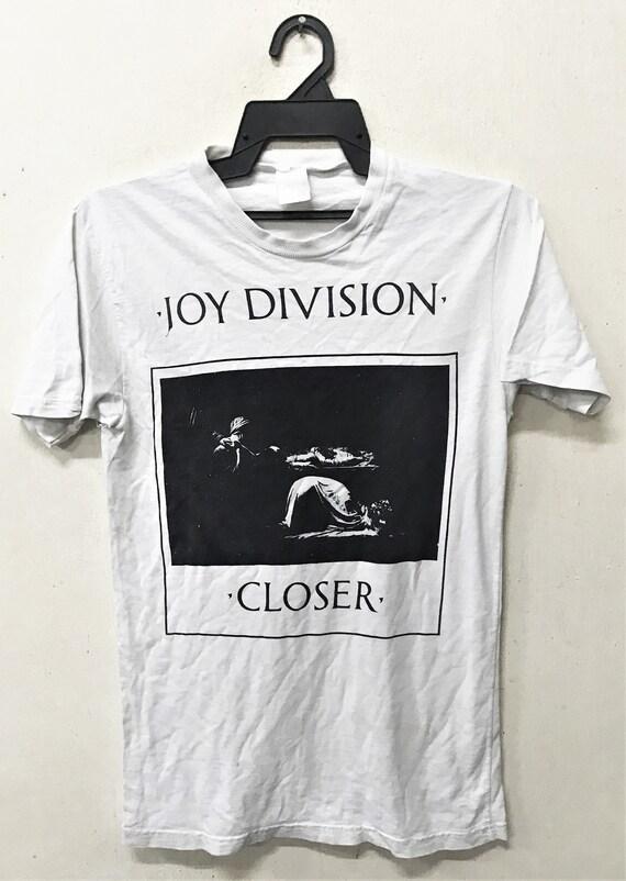 Vintage 1980's JOY DIVISION CLOSER Post-punk Rock