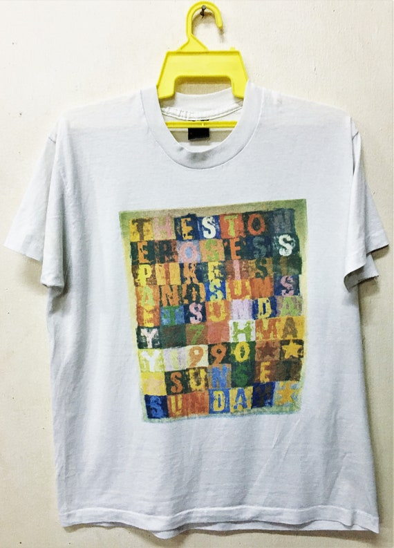Vintage 1990 THE STONE ROSES Spike Island Indie Ro