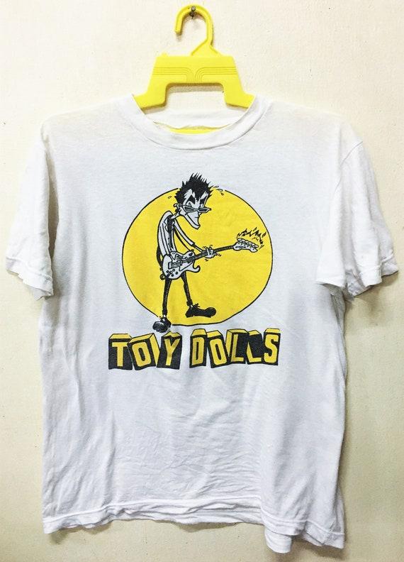 Vintage 1991 TOY DOLLS Punk Rock Tour Concert Prom