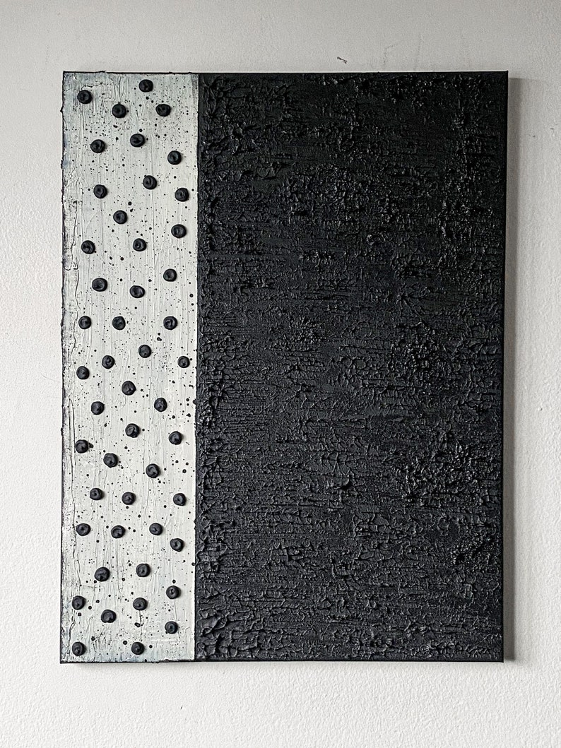 Textured Abstract ArtworkPainting